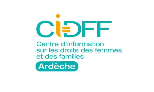 Logo Centre d'information sur les droits des femmes et des familles Ardèche