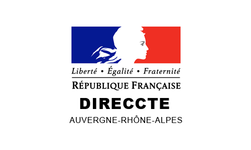 Logo DIRECCTE Auvergne-Rhône-Alpes